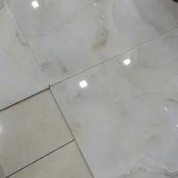 White Vitrified Floor Tile, 60X120 cm, Thickness: 5-10 mm
