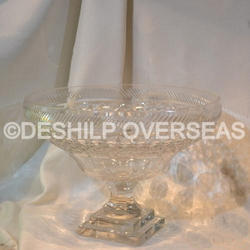 Antique Glass Crystal Bowls