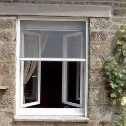 Fiber Glass Mesh, Aluminium White Roller Mesh Net, For Window, Door, Shape: Rectangular
