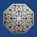 Luxurious Marble Inlay Table top