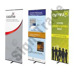Retractable Banner Stand, For Events