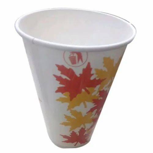 Printed Juice Disposable Paper Cup, Packet Size: 5000 Pieces, Capacity: 210 ml