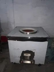 Stainless Steel ROUND, SQUARE Square Charcol Tandoor, For Commercial