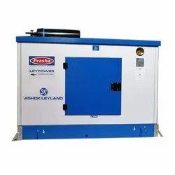 Prasha Water Cooling 30 Kva Ashok Leyland Diesel Generator, 12V, Model Name/Number: LP-30D1