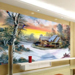 3d wall painting art mural 3d painting services wall services home in hyderabad