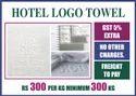 Hotel Logo Weave Towels