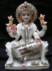 Goddess Lakshmi Marble Statue