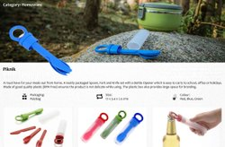 Piknik - Plastic Cutlery Set