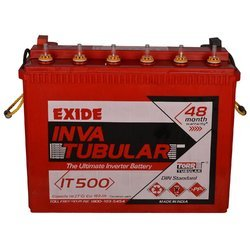 Exide Inva Tubular Battery, Capacity: 150 Ah