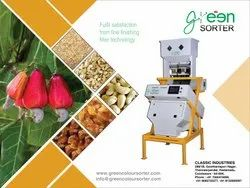 Cashew Nuts Color Sorting Machine