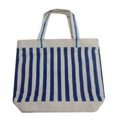 Oasis White Fabric Bag, Size: 13 - 19 Cm