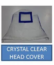 Crystal Clear Head Cover With Antibacterial Tape Seam