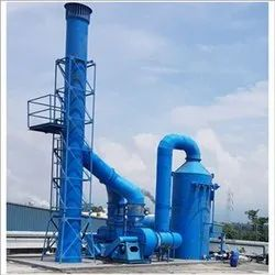 Parthiv PP FRP Fumes Scrubbing System