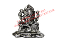 Metal Book Ganesha Idol