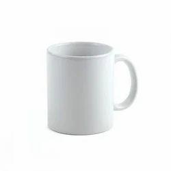 White Sublimation Ceramic Coffee Mug, Size: 11 Ounce