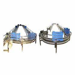 Milk Crate Conveyor System