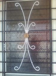 Iron Safety Grill Window