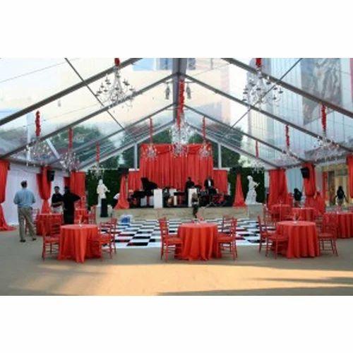 Transparent Event Frame Tent, Size: 5m X 5m | ID: 15812786573