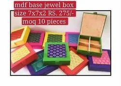 Brocade MDF Jewelry Box
