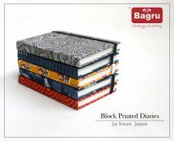 Block Printed Diary