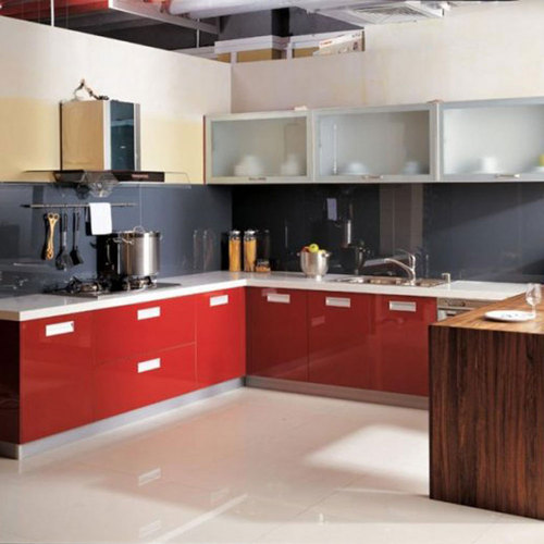 Modular Kitchen Solutions: Wood Kutchina Modular Kitchen, Rs 49990 /number, Lokenath