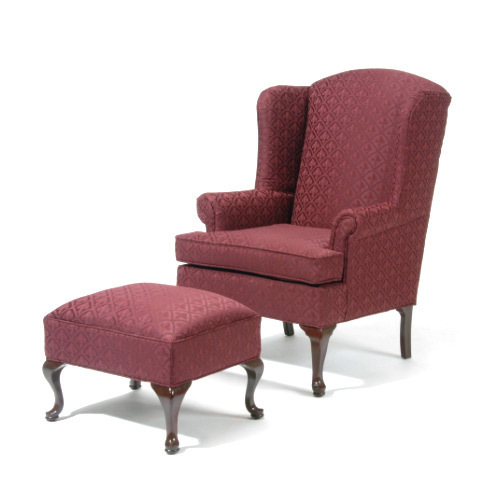 Stylish Sofa Chair With Footrest