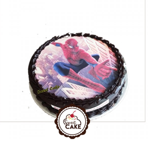 Excellent Spider Man Photo Cake At Rs 899 Piece Theme Cake Id 16371186048 Funny Birthday Cards Online Inifofree Goldxyz