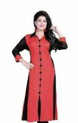 Akbar Khan Ladies Rayon Sleeveless Top
