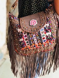 Female Banjara Leather Bags