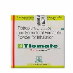 Tiotropium Bromide and Formoterol Fumarate Powder for Inhalation Capsule