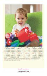 Single Sheet Wall Calendar 306