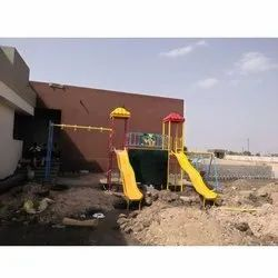 FRP Playground Wave Slide System