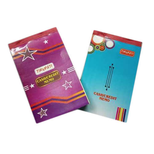 Tirupati Cash Memo Notebook