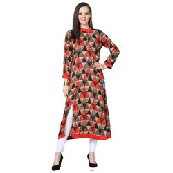 LKAAAF-18 Printed Full Sleeve Ladies Kurti