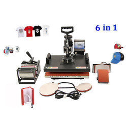 6 In 1 Combo Heat Press Sublimation Machine
