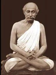 Lahiri Mahashaya Yoga Master Marble Statue