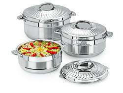 ESTEELO Sunflower Gift set Stainless Steel insulated Hot Pot Casserole