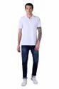 Male Slim Fit Denim Blended Cotton Denim Jeans with Whisker Effect