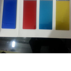 Red & Blue ABS Plastic Coatings Paint