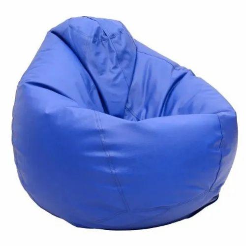 Blue Bean Bag Shape Teardrop Rs 1200