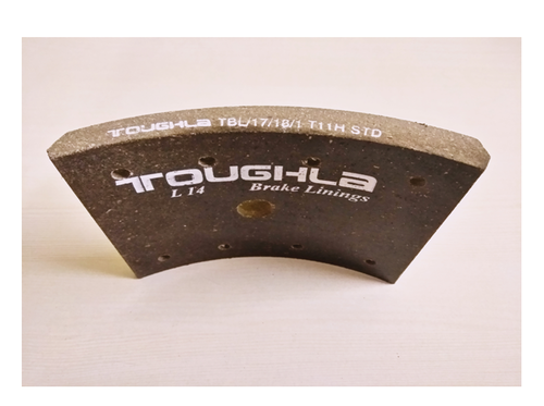 Toughla Carbon Steel Ashok Leyland Brake Lining, Packaging Type: Carton Box
