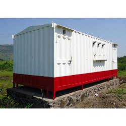 Mild Steel Portable Toilet Cabins