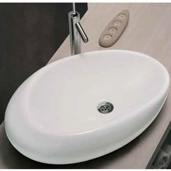 White Plain Table Top Wash Basin