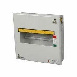 Square 4-Way Mild Steel Single Door MCB Box