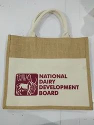 Jute Bag With Pocket