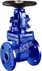 Flanged End CS Gate Valve