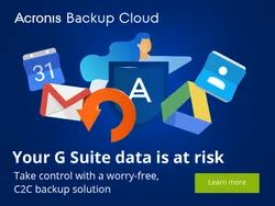 Acronis Backup Cloud Based Service