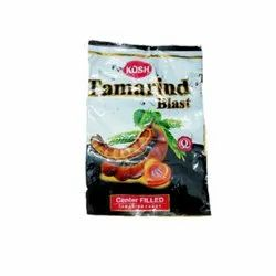 Kosh Heart 4.5 Grams Tamarind Candy, Packaging Type: Pouch and Plastic Jar