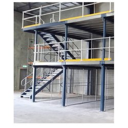 Two Tier Mezzanine Flooring
