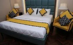 Designer Bed Runners And Cushion Covers